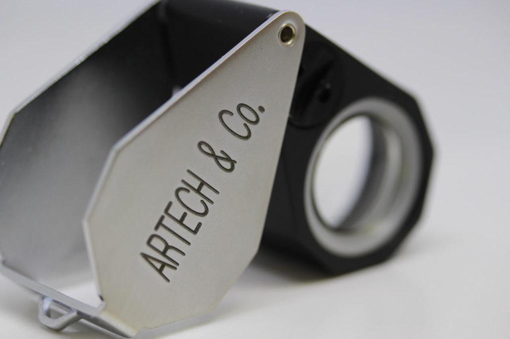 レーザー加工事例 金属マーキング